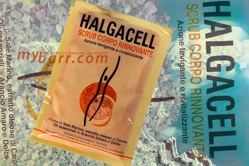 halgacell scrub corpo rinnovante azione levigante e rivitalizzante monodose mybarr