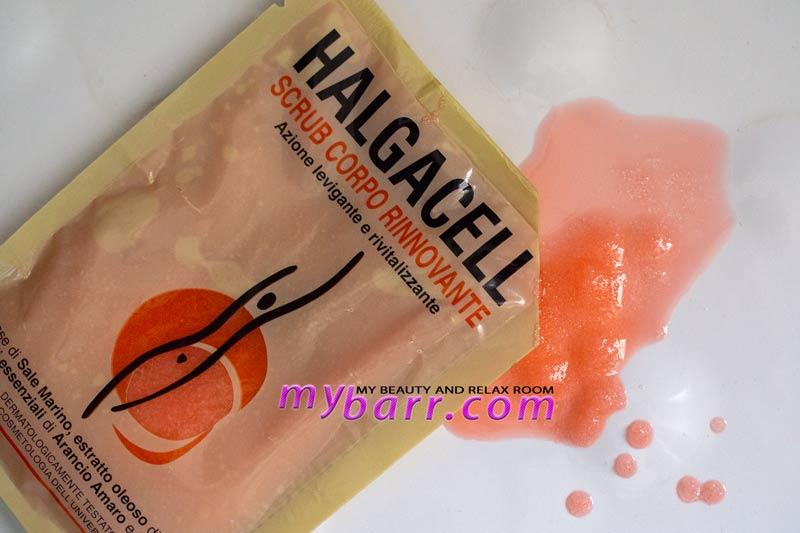 halgacell scrub corpo rinnovante busta monodose mybarr