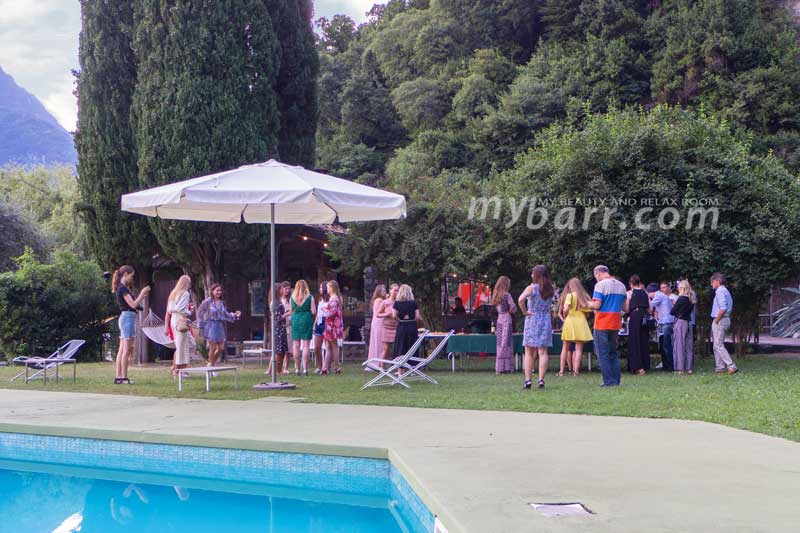 party evento #natureairinspired residence la cava lago di como mybarr