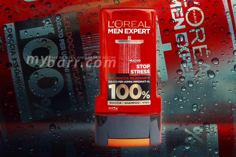 L Oreal men expert stop stress gel doccia rilassante uomo mybarr