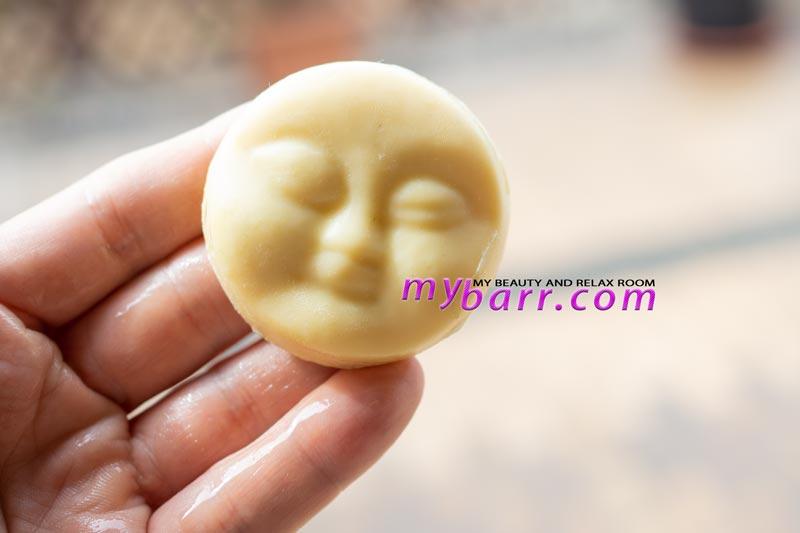 detergente solido per il viso Lush Baby Face, il detergente nudo e solido che si può usare anche come struccante mybarr