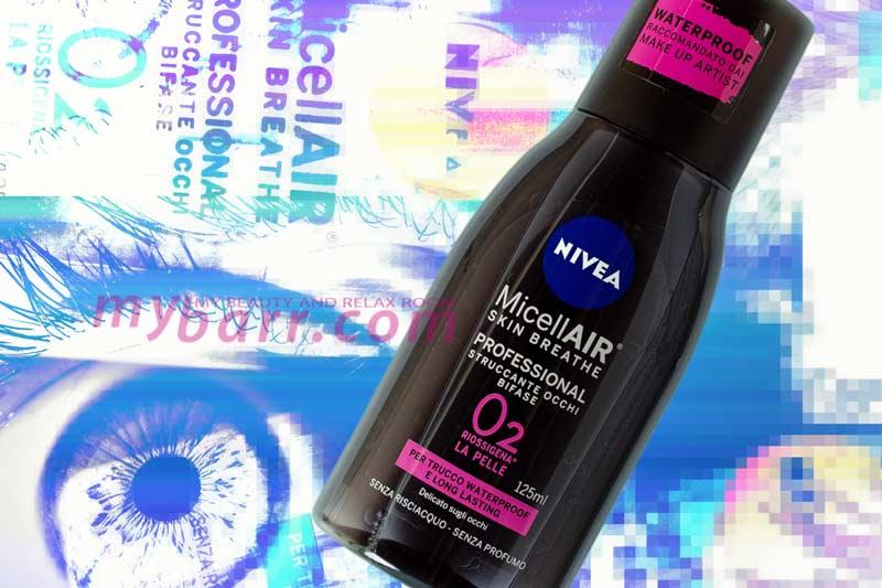 nivea professional struccante occhi bifase micellair skin breathe waterproof mybarr
