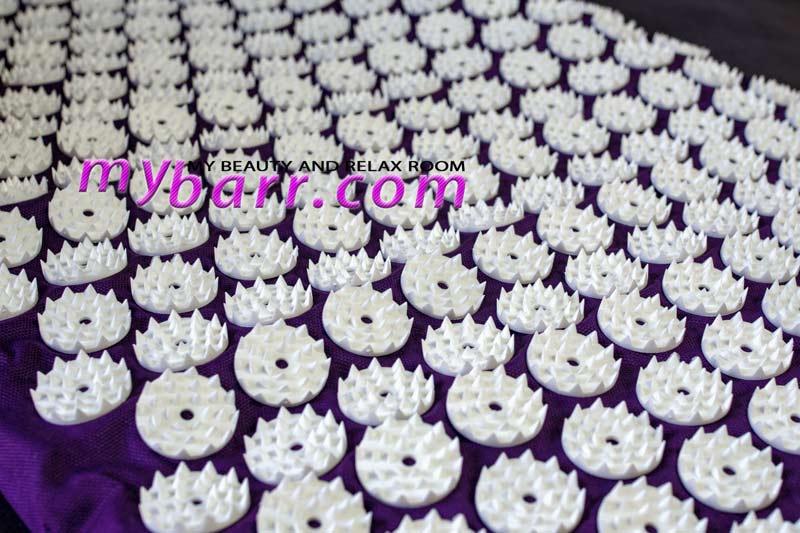 tappetino chiodato per agopressione acupressure mat White Lotus mybarr