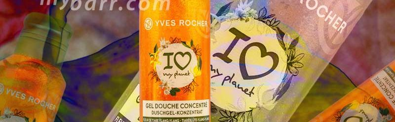 yves rocher i love my planet gel doccia tiare ylang ylang mybarr