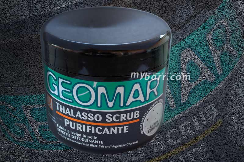 geomar thalasso scrub purificante detox detossinante mybarr
