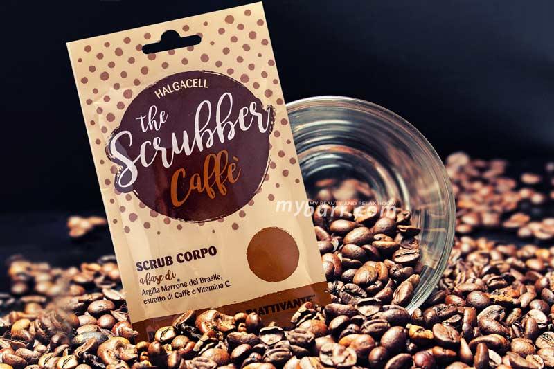 scrub corpo Halgacell The Scrubber caffè detossinante mybarr