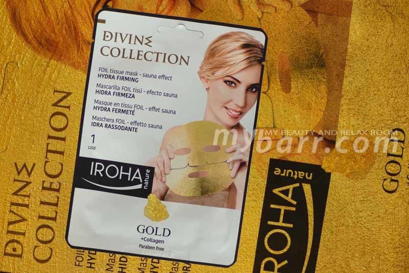maschera iroha idra rassodante gold collagene oro opinioni mybarr