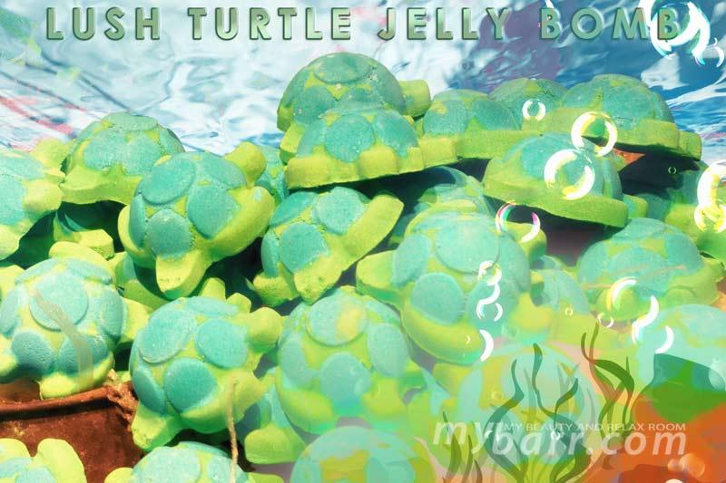 Sali Da Bagno Erbolario : Turtle jelly bomb di lush per un bagno verde tropicale! mybarr