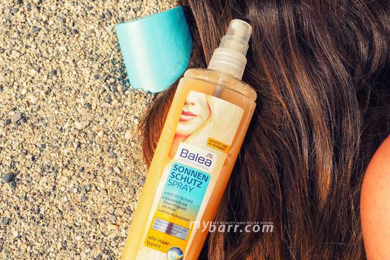 Protezione solare capelli spray Balea professional mybarr