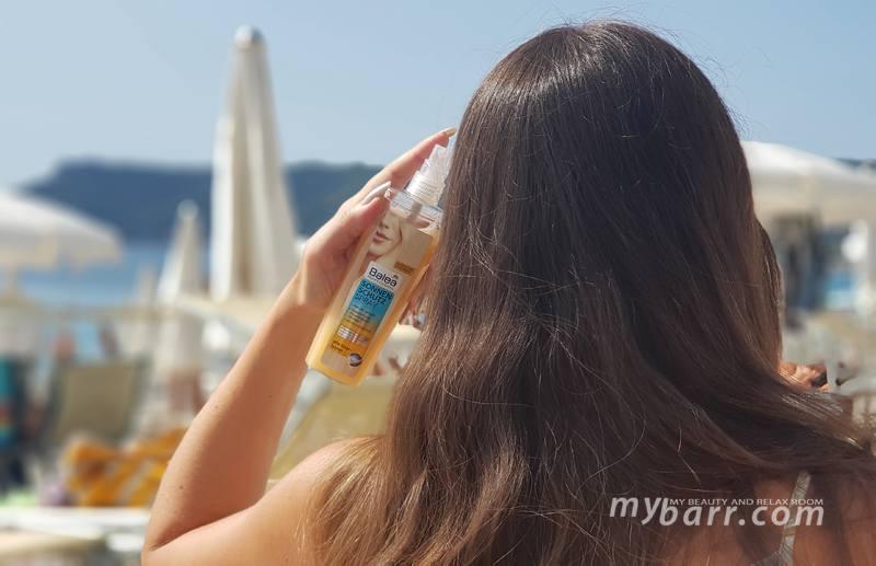 protezione solare capelli Balea Professional mybarr