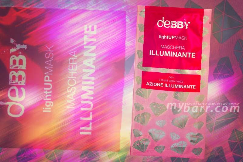 debby maschera illuminante lightupmask deborah group opinioni mybarr
