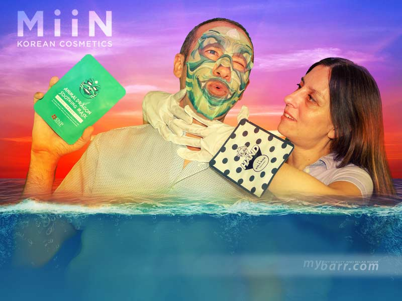 guanti idratanti Relax Day Hand Mask 11 village factory miin cosmetics mybarr