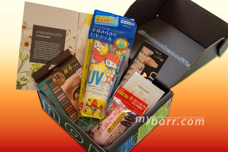 nomakenolife NMNL beauty box giapponese abbonamento mensile mybarr