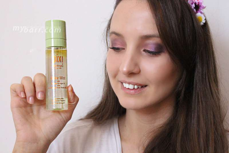 Pixi glow mist spray viso a base di Propoli e Olio di Argan per un makeup scintillante mybarr