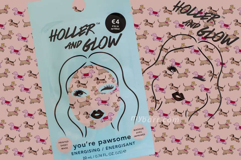 Holler and Glow maschera viso energizzante you're pawsome primark mybarr