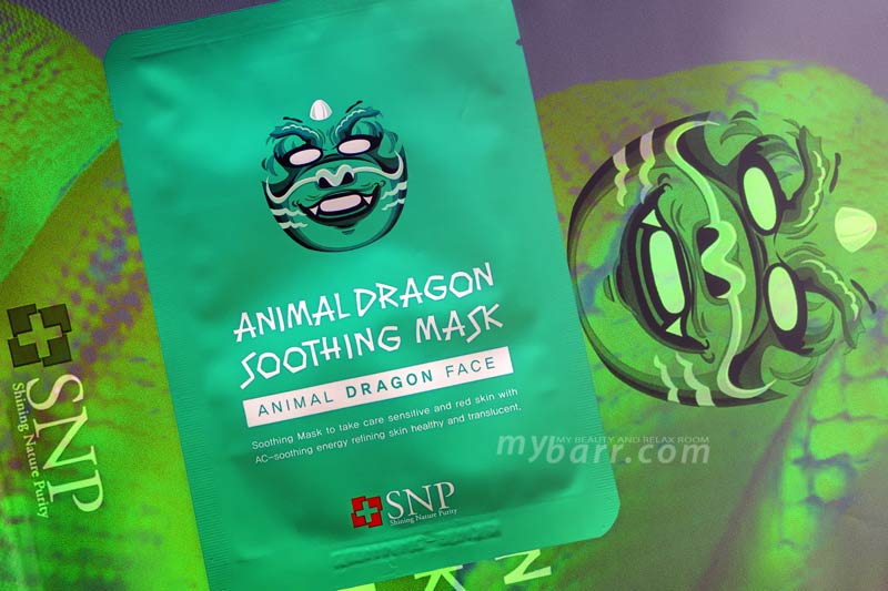 SNP animal dragon soothing mask - maschera drago -mybarr