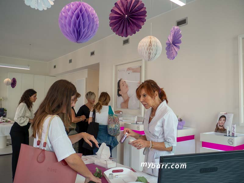 Danila Maria Galland Expert prodotti lifting mybarr