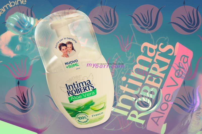 Intima Roberts aloe vera detergente intimo mybarr