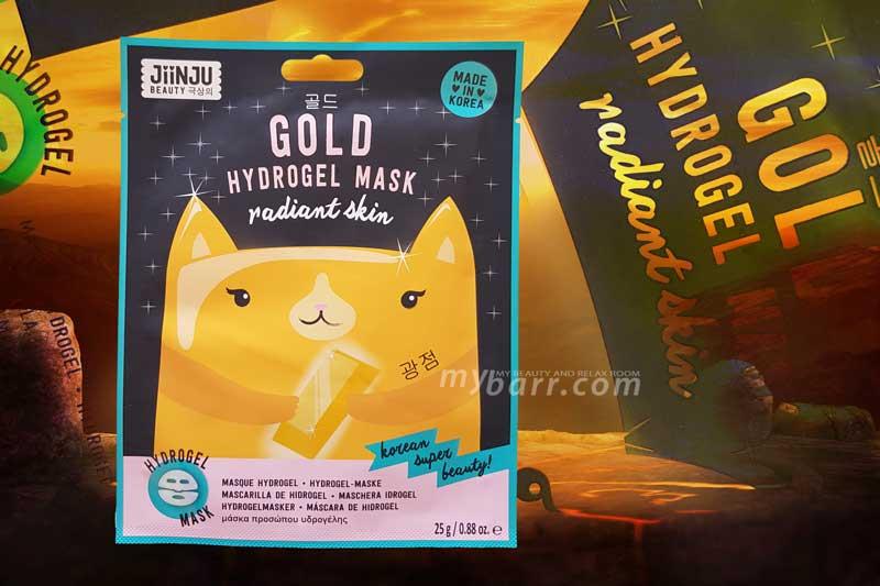 jiinju gold mask maschera oro hydrogel ovs mybarr