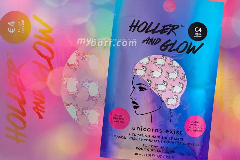 maschera capelli tessuto holler and glow idratante mybarr