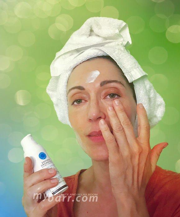 crema viso antirughe bio zaffiro organica con bava di lumaca mybarr