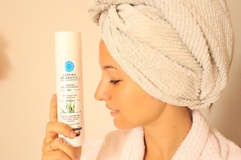 shampoo ristrutturante bio zaffiro organica mybarr