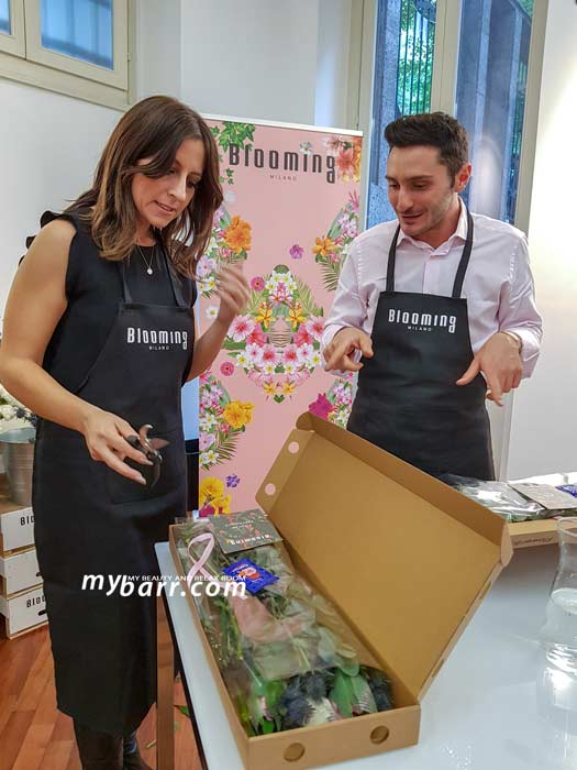 Flower box experience by Blooming Milano: bouquet di fiori freschi - mybarr