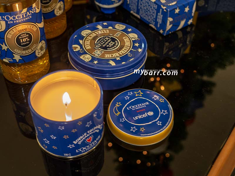 natale 2018 l'occitane regalo solidale candela unicef mybarr