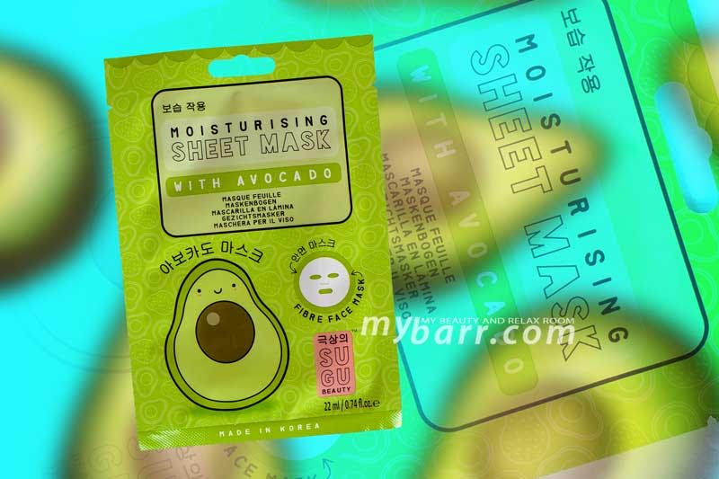sugu maschera avocado pelle luminosa idratata mybarr