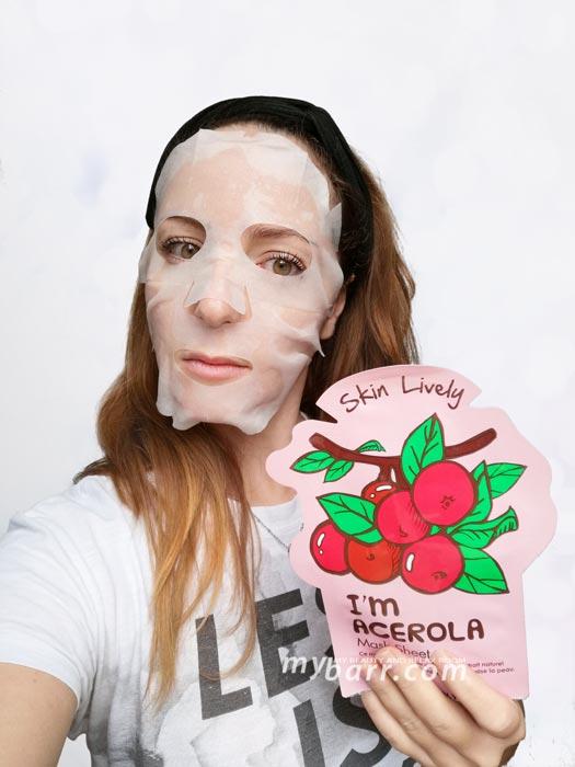 tony moly i'm acerola maschera viso coreana mybarr