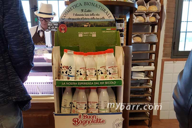 cosmesi bionaturale tuscany farm il buon bagnolatte mybarr