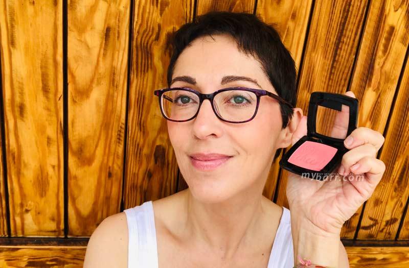 swatch catrice blush box 020 Glistening Pink mybarr