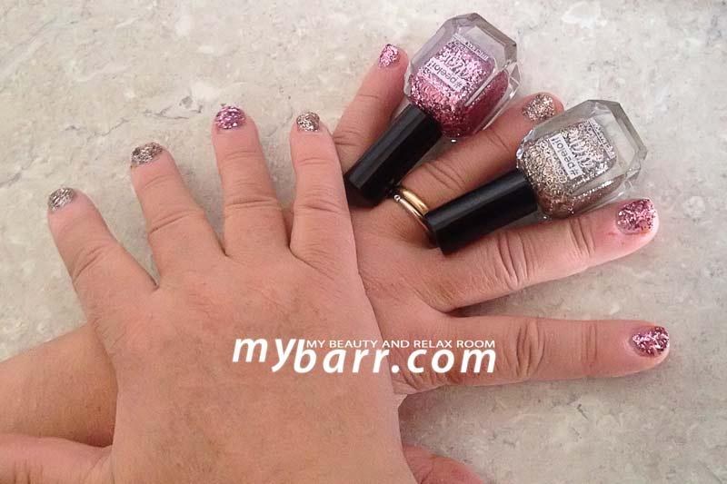smalto peel off catrice glam manicure glitter longlasting mybarr