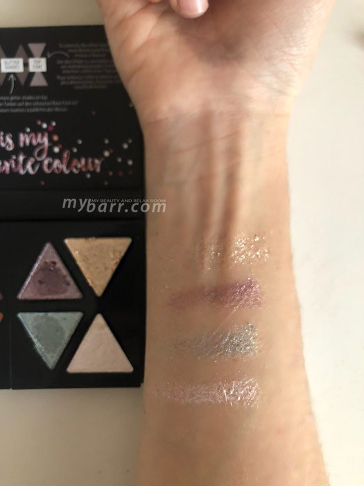 swatches palette catrice the glitterizer mybarr
