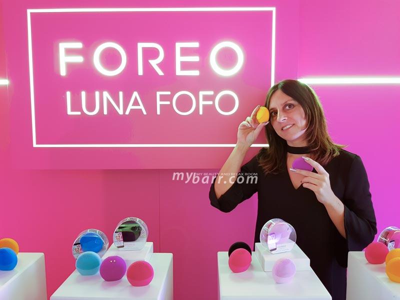 foreo fofo evento blogger influencer milano mybarr