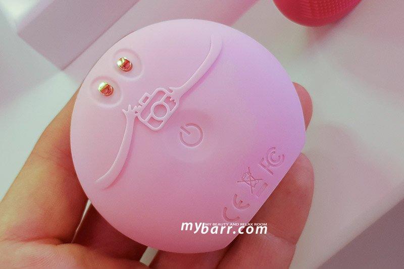 foreo fofo sensori spazzola pulizia viso intelligente mybarr