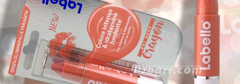 Labello crayon lipstick: nuovo matitone labbra in diversi colori