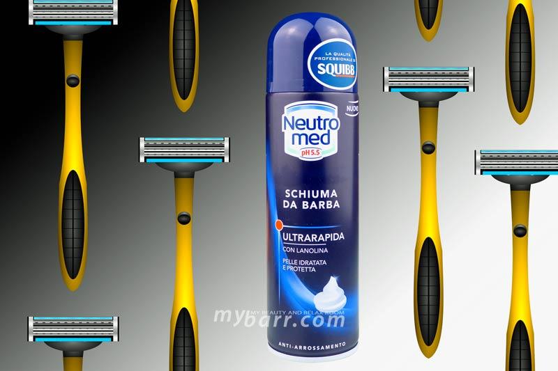 schiuma da barba Squibb ultrarapida - Neutromed - mybarr