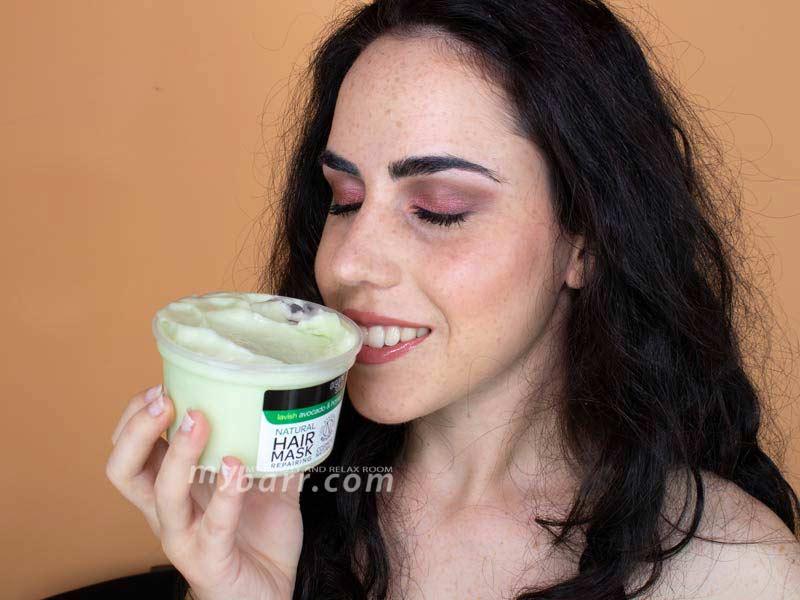organic shop maschera capelli avocado miele opinioni mybarr
