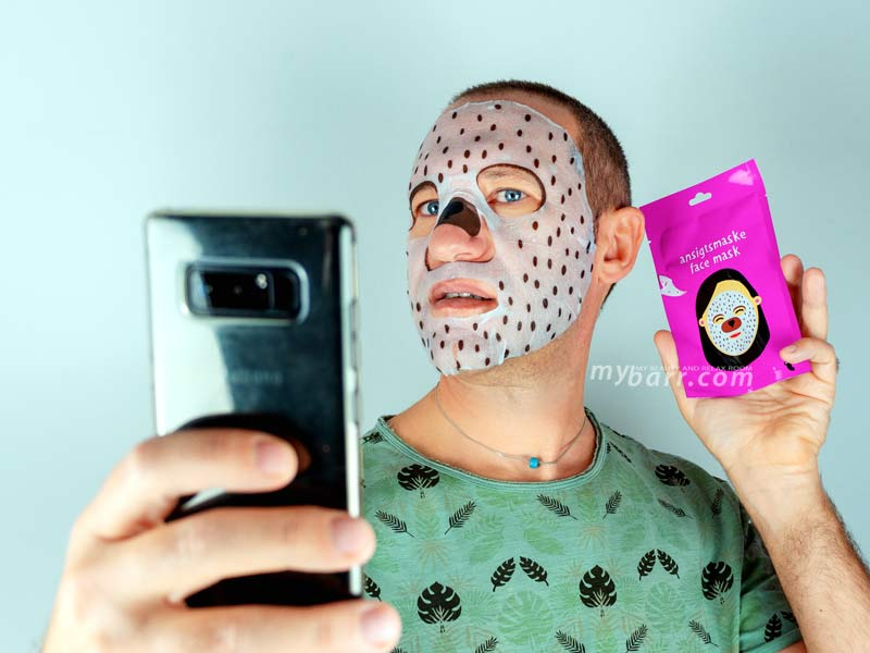 ansigtsmaske o maschera viso Tiger maschera orso decorata di Tiger mybarr