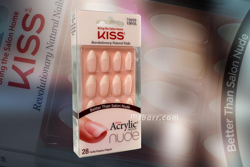 unghie finte kiss salon acrylic french nude opinioni mybarr