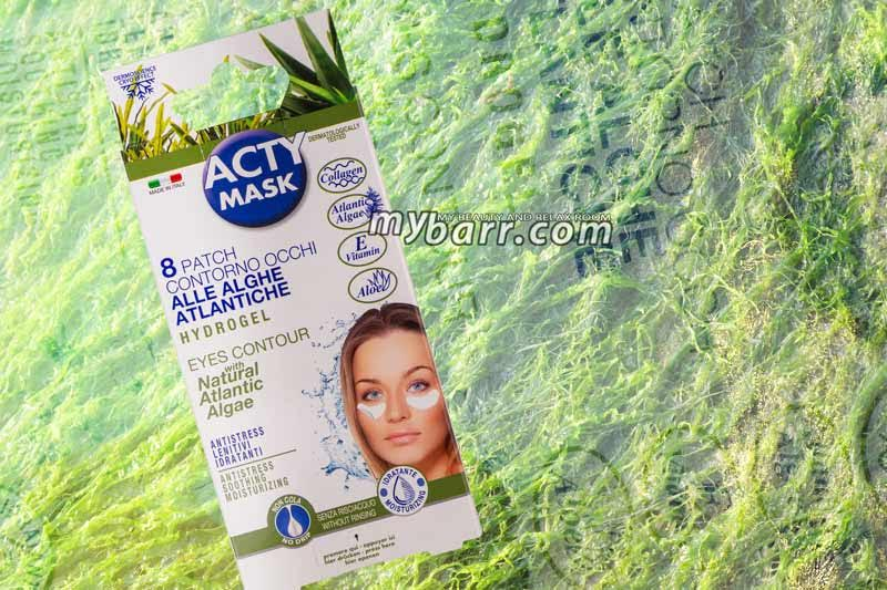 acty mask patch occhi alghe atlantiche effetto lifting opinioni mybarr
