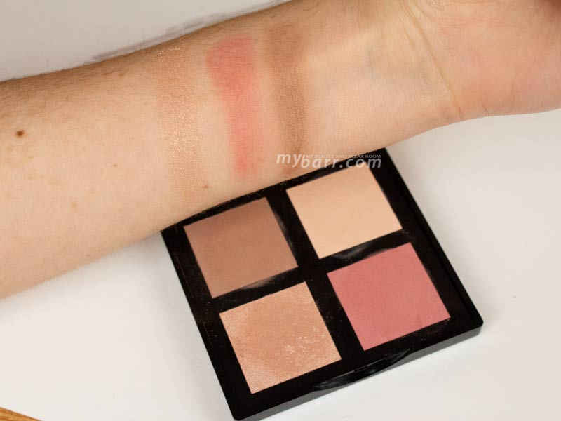 swatches Astra Romance palette pink romance 02 mybarr