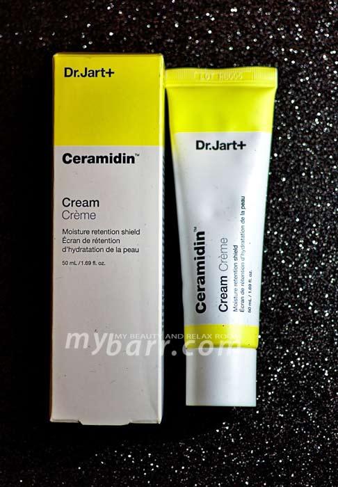 dr jart ceramidin cream crema dermocosmetica coreana pelle secca mybarr