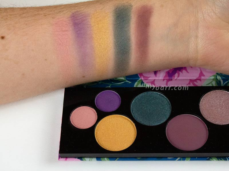 swatches palette essence too glam to give a damn mybarr