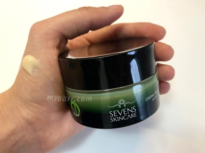 crema anti imperfezioni detox seven skincare opinioni mybarr