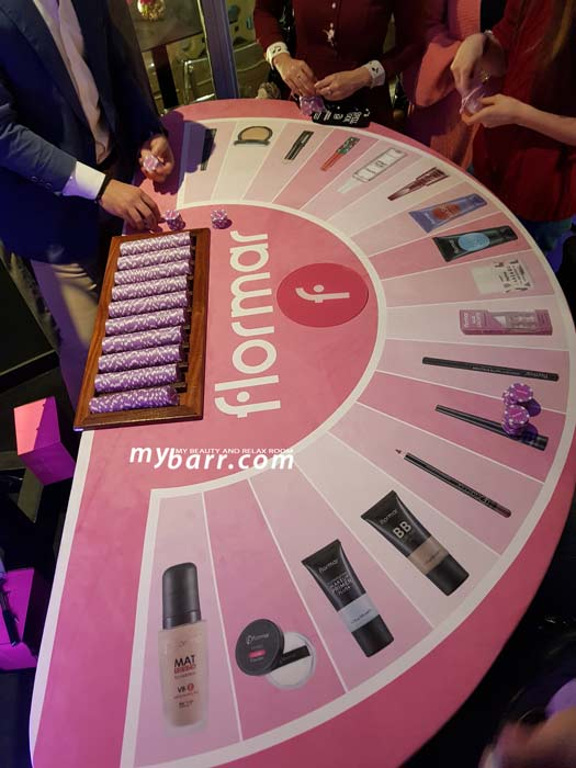 flormar make up 2019 evento blogger milano gioco mybarr