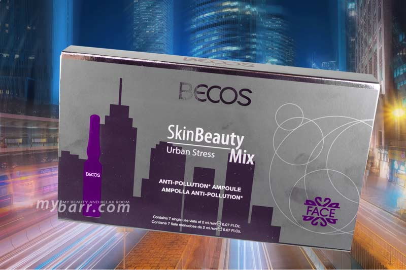 Becos Skin Beauty Mix urban stress anti pollution mybarr opinioni