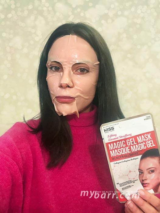 maschera magic gel mask collagene kiss new york mybarr opinioni