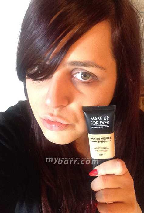fondotinta make up forever matte velvet skin opinioni - mybarr